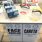 COVID face shields for sale