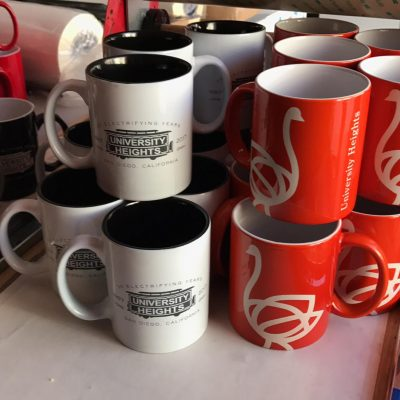 Many Engraved Mugs