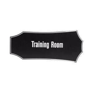 Engraved Name Plate that says Training Room