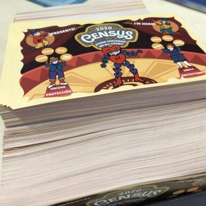 Stack of Fern Street Circus Flyers