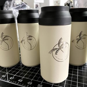 Engraved Tumblers prepped to go